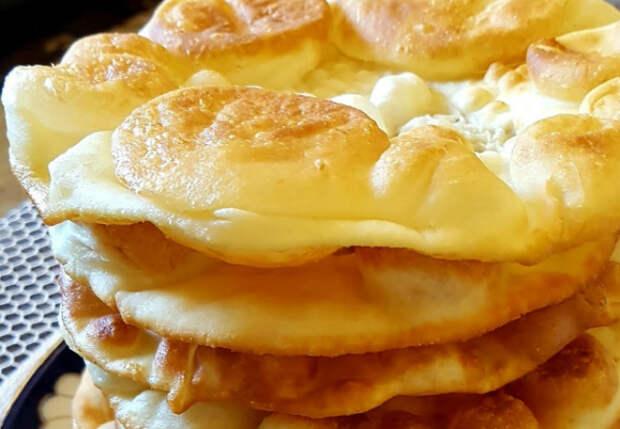 Пирожки воздушные как пух: тесто поднимается прямо в сковороде