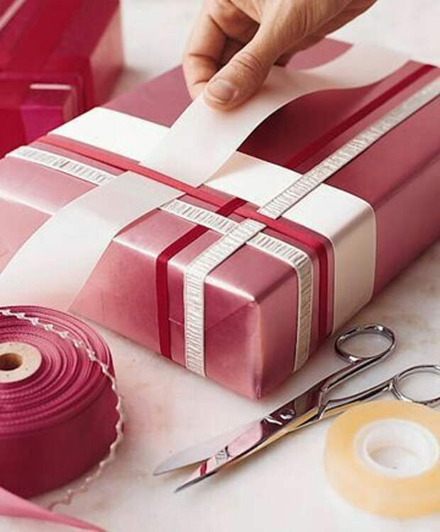 Летние (и не очень) варианты упаковки подарков