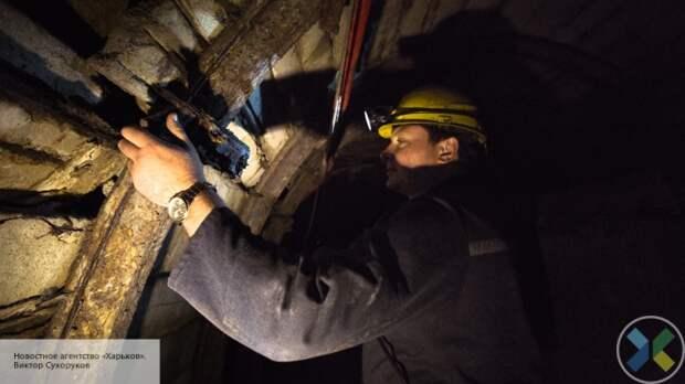 На Украине снова бастуют шахтеры