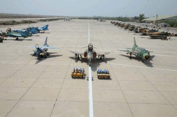 Боевая авиация Ирана. Часть I. Реабилитация парка истребителей F-14 «Томкет»