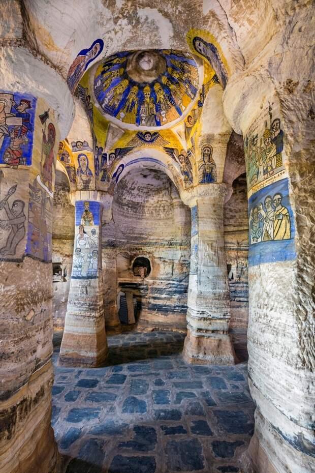 Древние церкви Эфиопии 5