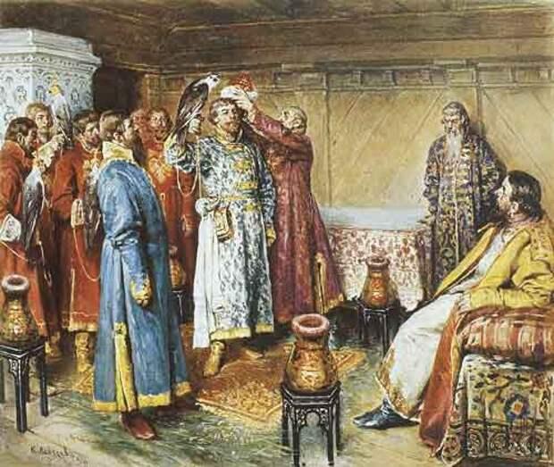 Соколиная охота царя Алексея Михайловича
