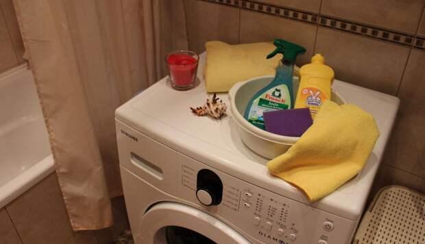 Как я мою стиральную машинку и избавляюсь от неприятного запаха в ней