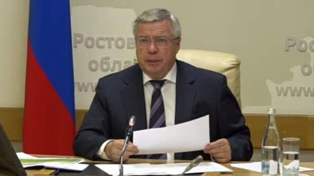 Губернатор Голубев заявил овозможном локдауне вРостовской области