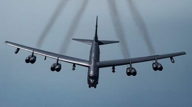 В ВКС рассказали о тренировке США авиаударов по России
