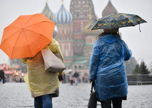 Москвичей предупредили о дожде и мокром снеге