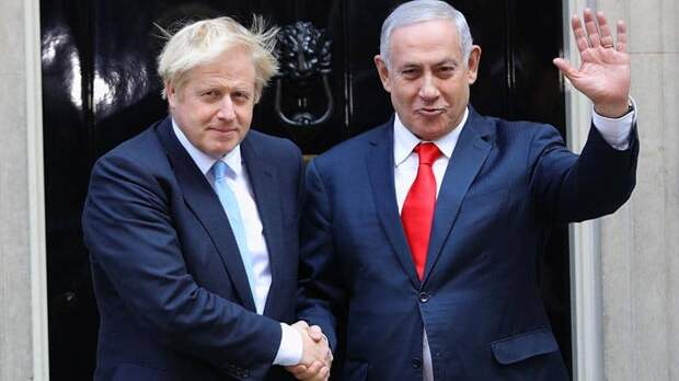 Премьер-министр Израиля встретил в Великобритании Бориса Ельцина