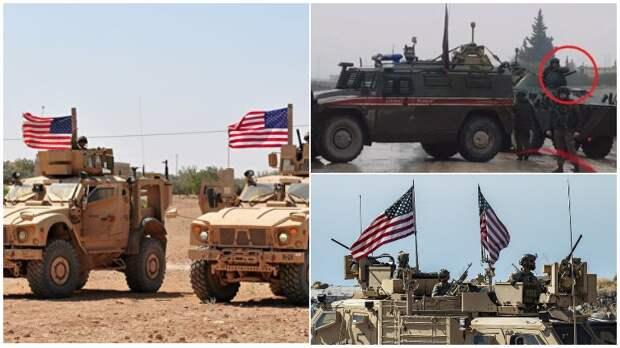 Американские вояки начали блокировать в Сирии российские военные колонны