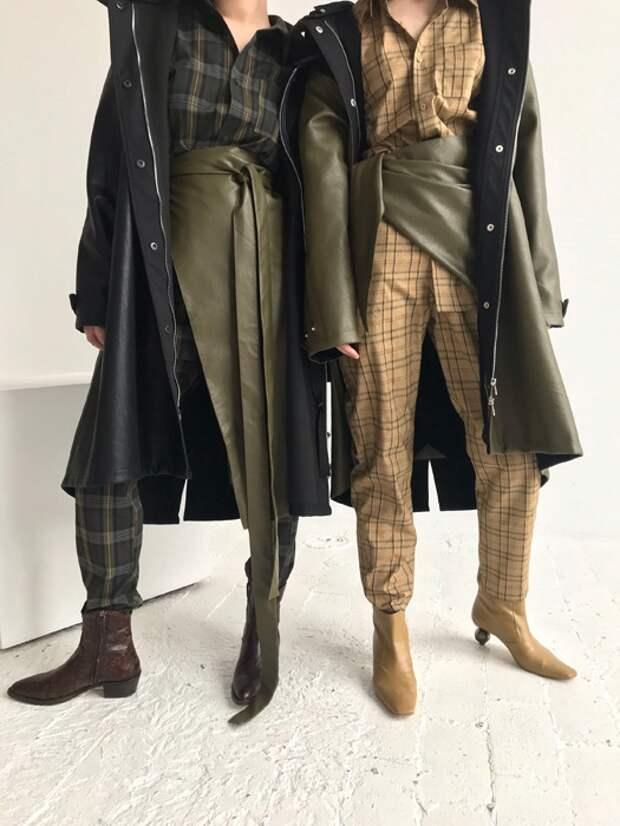 полуюбка тенденции модных блогеров 2019 2020 года