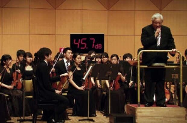 Японцы заставили симфонический оркестр соревноваться с пылесосом