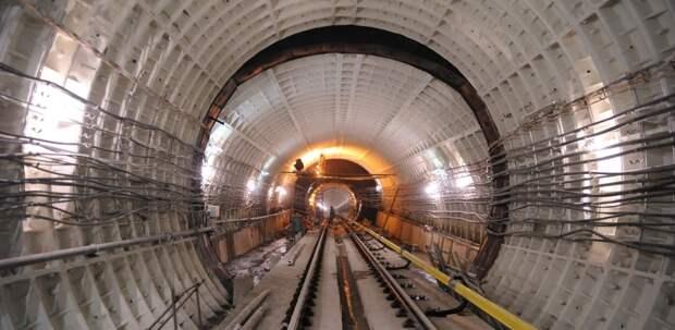 Собянин: началась проходка второго тоннеля метро на юго-западе БКЛ