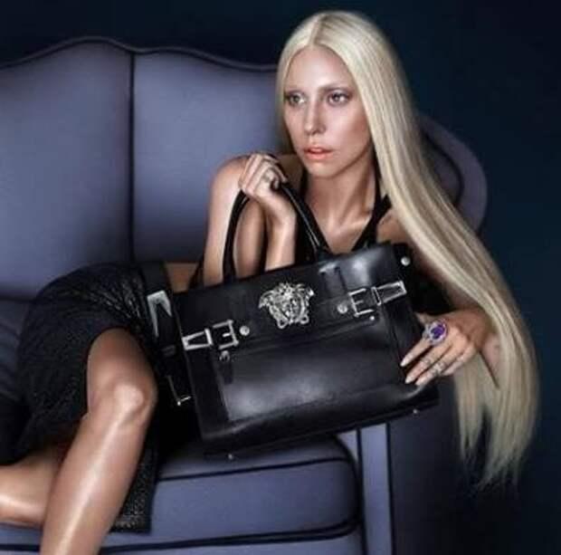 Леди Гага воплотит дух Versace