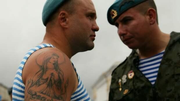 Чёртовы полосатые рубашки!: Американский спецназовец рассказал, почему боится русских десантников