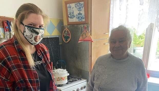 Волонтеры Подольска доставили более 170 продуктовых наборов нуждающимся семьям
