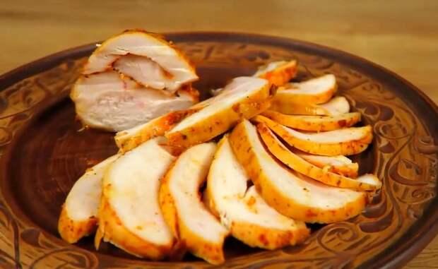 Пастрома из курицы «Инь-Янь»