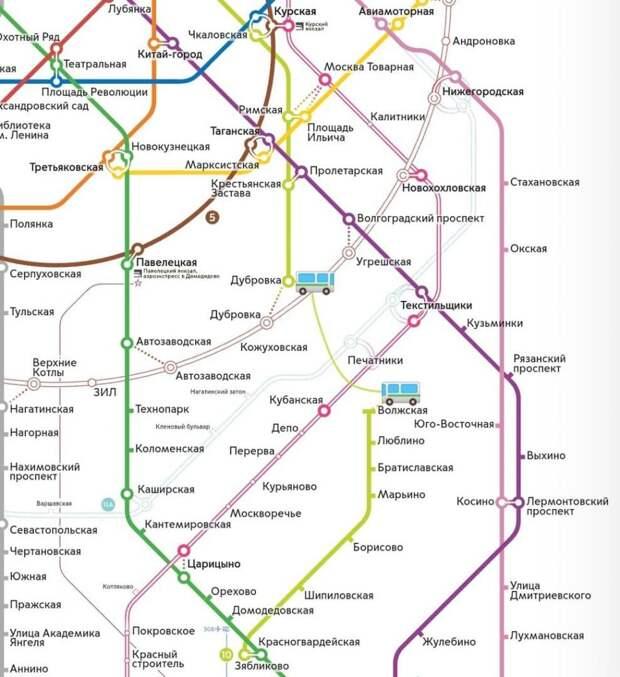 Участок метро от «Дубровки» до «Волжской» закроют в апреле