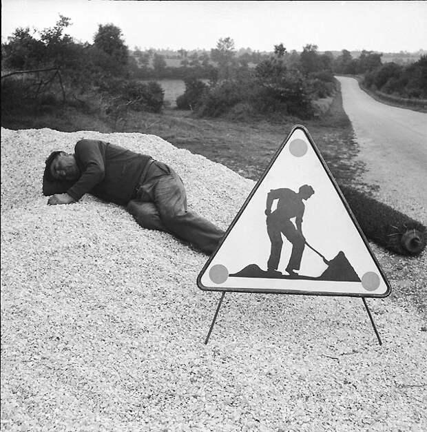 """""""Французский юмор""""? Нечто большее! Гений фотографии Rene Maltete"""
