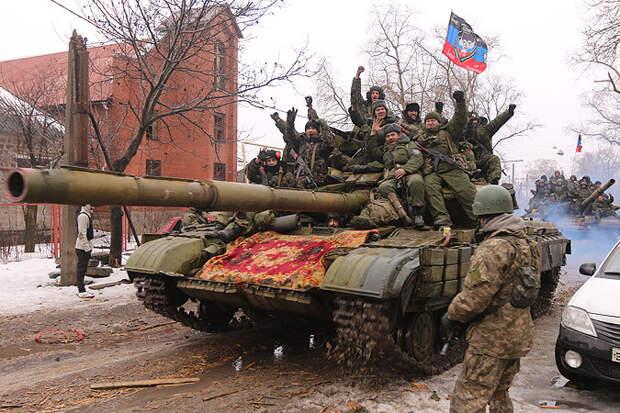 Армии Новороссии пошли в наступление по всему фронту