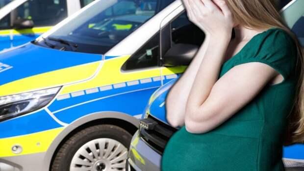 Гессен: мужчина посреди улицы избил беременную жену