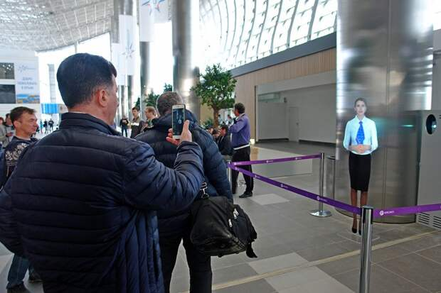 Новый терминал аэропорта Симферополь принял первых пассажиров