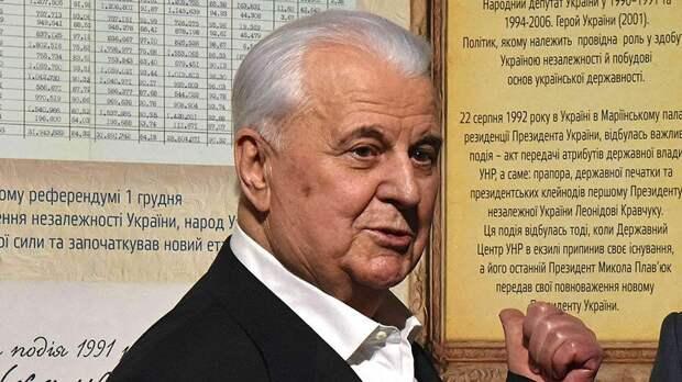 Кравчук заявил, что Россия проиграет в гонке вооружений
