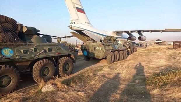 Иран предложил помощь в размещении российских миротворцев в Карабахе