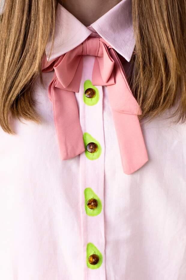 Блузка с авакадо