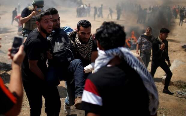 В ходе протестов против открытия посольства США в Иерусалиме убиты 37 палестинцев, свыше 900 ранены
