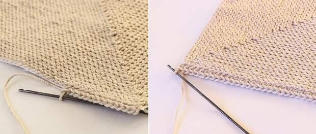 как связать коврик без спиц