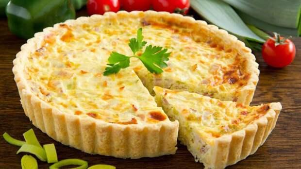 Рисовый пирог с сыром: простой рецепт