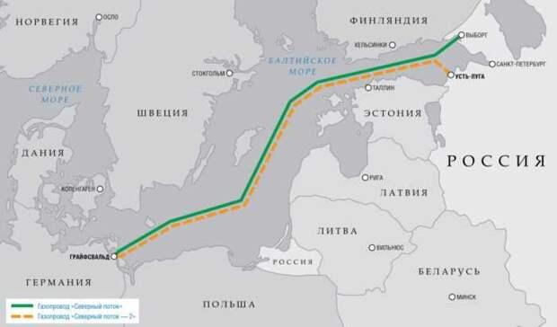 Le Figaro: жертвой дипломатического кризиса РФ и ФРГ станет «Северный поток — 2»