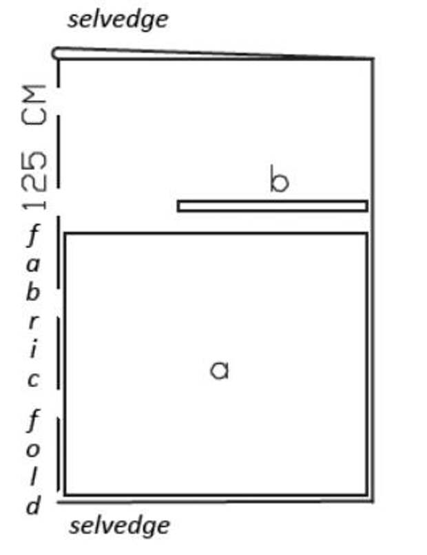 Самый легкий пошив летнего сарафана. Выкройка (1) (322x419, 22Kb)