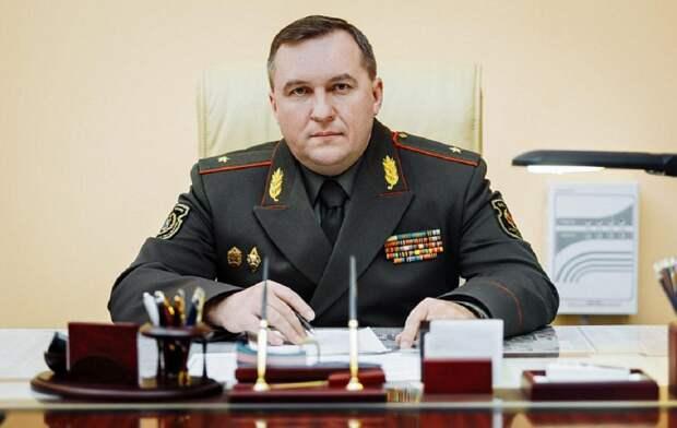 Министр обороны Белоруссии Виктор Хренин