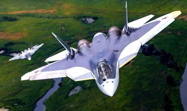 Су-57 с новым двигателем получит титул «мощнейшего истребителя в мире»