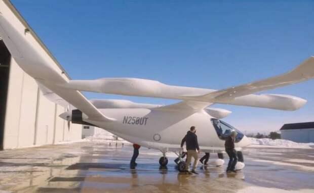 В США представили самолёты, которым не требуются аэродромы