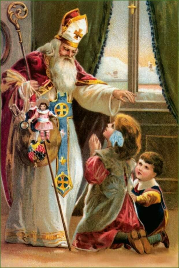 История греческо-кипрского деда Мороза дед мороз, жизнь, история, кипр, культура, люди