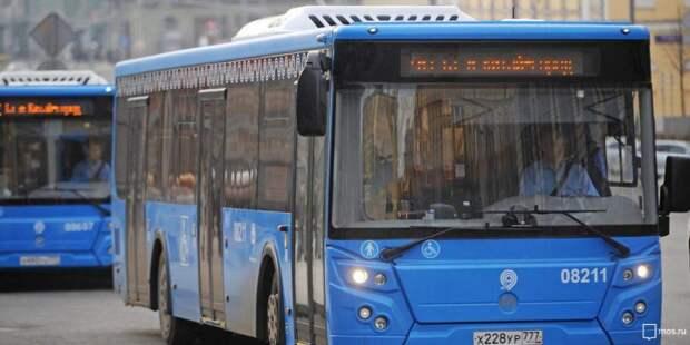В автобусах Войковского с 1 сентября уберут турникеты