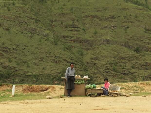 Фермеры из Бутана