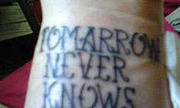 Татуировщики-двоечники: ошибки, которые остаются на всю жизнь
