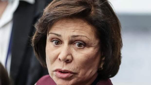 """Ирина Роднина с ошибкой написала слово """"президент""""."""