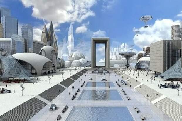 Инопланетные города для похищенных землян