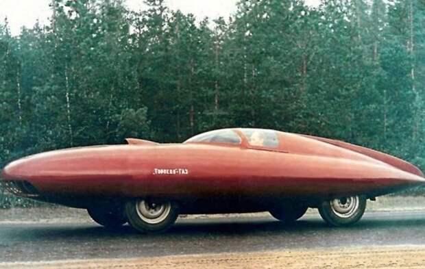 Нереализованные мечты инженеров советского автопрома СССР, авто, фото