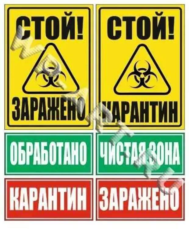 Предупреждающие таблички по коронавирусу. Подборкаchert-poberi-tablichki-koronavirus-55370614122020-10 картинка chert-poberi-tablichki-koronavirus-55370614122020-10