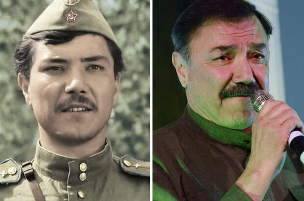 Рустам Сагдуллаев. 1973 и 2013 г.г