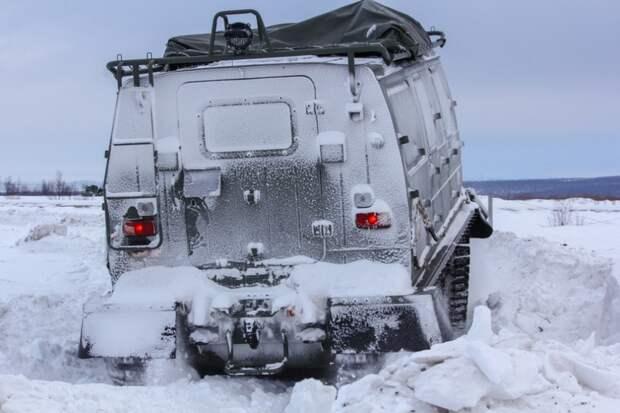 Боевой арктический вездеход «Алеут»