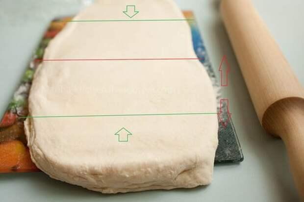 Слоеное тесто. Подсмотрено в советской книжке