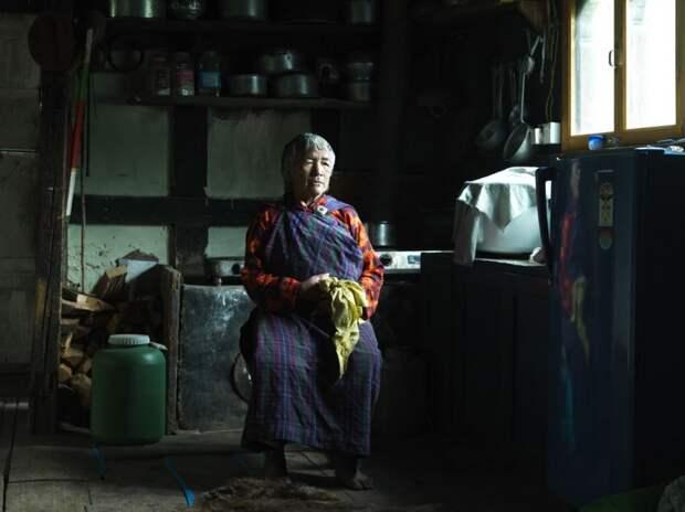 Жительница Бутана