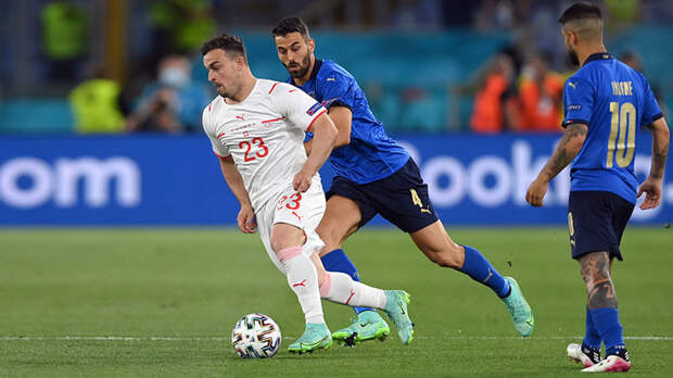 Битва соседей: Италия обыгрывает Швейцарию благодаря голу Локателли на Евро-2020