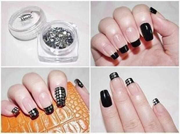 Маникюр ногтей, дизайн ногтей. фото
