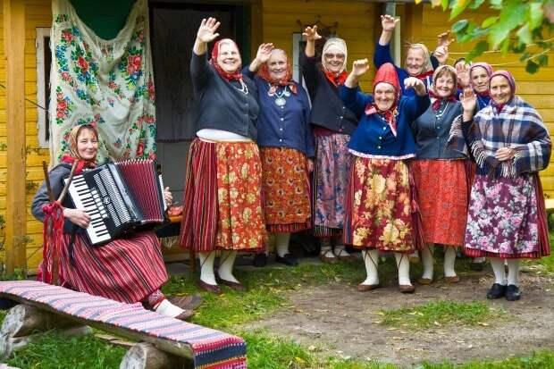 Женское царство — остров Кихну в Эстонии